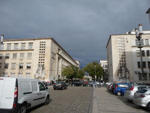 Univerzita v Coimbre - Vpravo Katedra fyziky, vľavo Lekárska fakulta