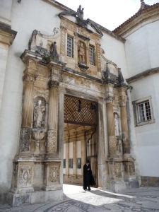 Univerzita v Coimbre - Porta Férrea