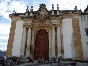 Univerzita v Coimbre - Vchod do knižnice