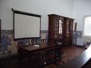 Univerzita v Coimbre - Typické dlaždičky (azulejos) nemôžu chýbať ani tu