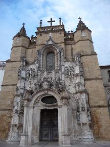 Coimbra - Chrám sv. Kríža (Igreja de Santa Cruz)