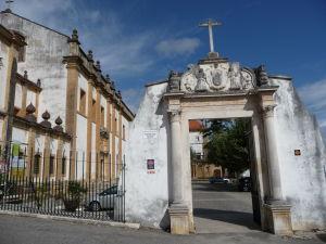 Nový kláštor Santa Clara - Vchod