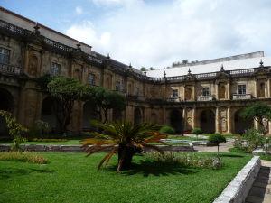 Záhrada a ambit Nového kláštora Santa Clara