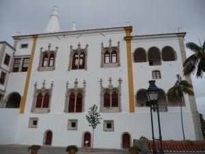 Národný palác v Sintre, sídlo portugalských kráľov