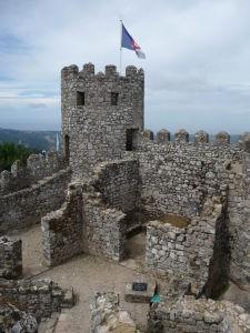 Jedna z veží hradu
