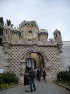 Vstupná brána paláca Pena
