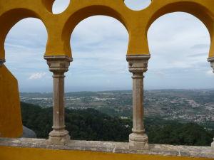 Vyhliadková terasa v paláci
