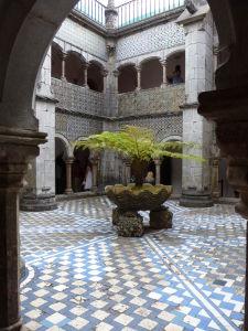 Vnútorné nádvorie paláca