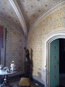 Interiéry disponujú bohatou výzdobou