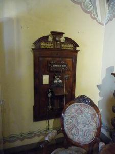 Vo výbave paláca nechýba napríklad telefón
