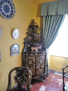 Palác má kompletne zachovaný nábytok