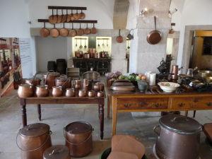 Kuchyňa, kde sa varilo pre kráľa