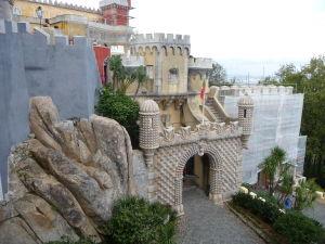 Vstup k palácu