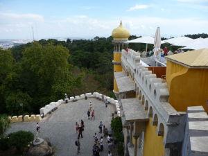 Terasy paláca