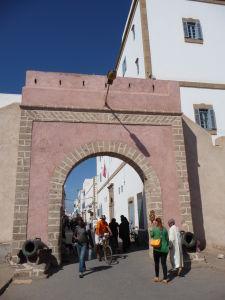 Essaouira - vstup do mesta