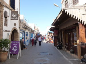 Essaouira - ulice mesta