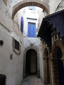 Essaouira - ulice mesta - židovská štvrť