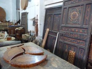 Essaouira - výrobky z dreva