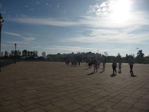 Námestie pred kráľovským palácom