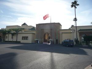 Vstup do kráľovského paláca