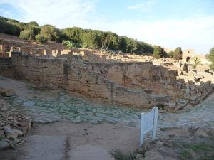 Pozostatky rímskeho mesta