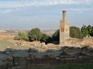 Pozostatky rímskeho mesta a minaretu