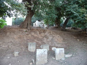 Neskôr Šelah slúžil ako cintorín