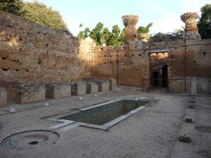 Pozostatky medresy - školy islamu