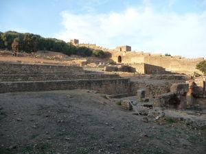Pozostatky starovekého mesta Sala Colonia