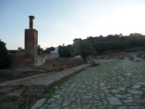 Pozostatky budov v Šelahu