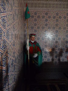 Mauzóleum Mohameda V. - Stráž