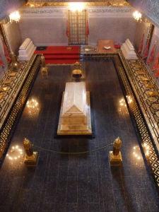 Mauzóleum Mohameda V. - Hroby kráľa Mohameda V. a jeho synov (jeden z nich bol kráľ Hassan II.)