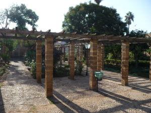 Botanická záhrada v Kasbe