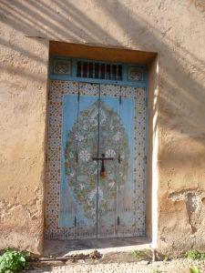 Dvere v Kasbe