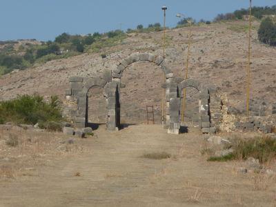 Brána Tingis, jedna z 8 vstupných brán do mesta