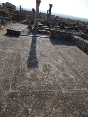 Mozaika s ročnými obdobiami z domu Herkula