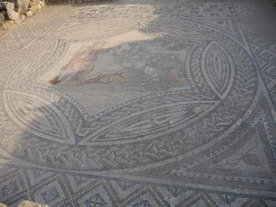 Mozaika znázorňujúca Bakcha a Ariadnu