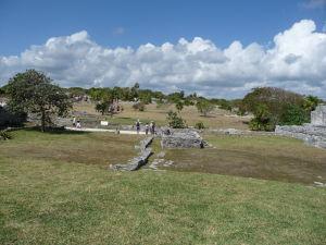 Ruiny starobylého mayského mesta v Tulume