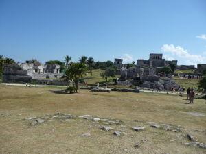 Starobylé mayské mesto v Tulume