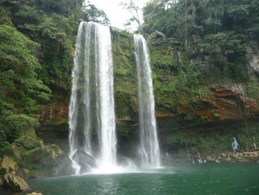 Vodopád Misol Ha neďaleko Palenque