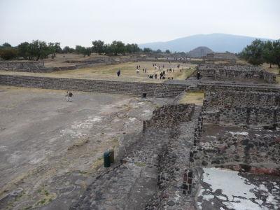 Ulica mŕtvych, Mesačná pyramída a jej vzor Cerro Gordo