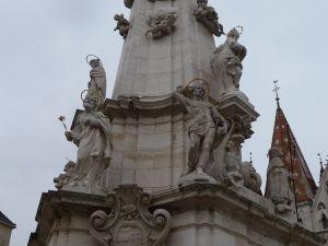 Námestie sv. Trojice - Morový stĺp - Sv. Sebastián