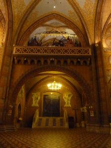 Interiér Chrámu kráľa Mateja