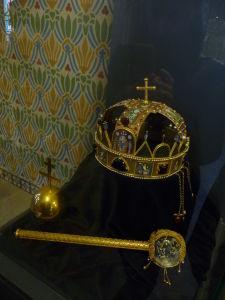 Kópia maďarských korunovačných klenotov