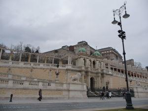 Várkert bazár pod Budínskym hradom