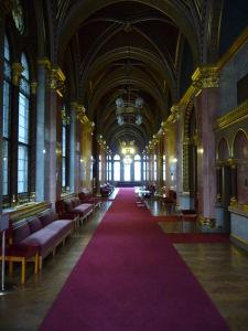 Maďarský parlament - Interiéry