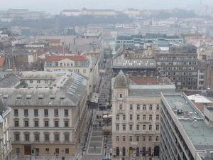 Výhľad z kupoly Baziliky sv. Štefana