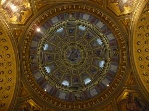Bazilika sv. Štefana - Strop kupoly