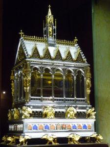 Bazilika sv. Štefana - Relikviár s rukou sv. Štefana