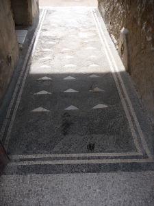 Geometrické rímske mozaiky